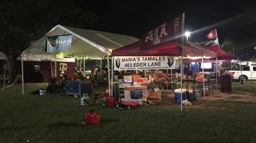 Texas A&M Home Football Game Tailgate