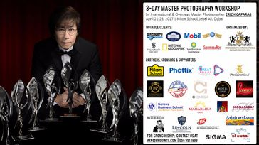 Erich Caparas | 3-Day Master Photography Workshop