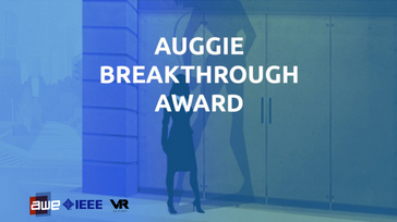 Auggie Award at AWE Europe on 18th and 19th of October