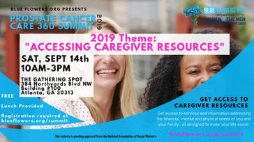 2019 Prostate Cancer Care 360™ Summit-Accessing Caregiver Resources