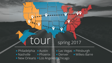 Cross-Country Tunefly Tour