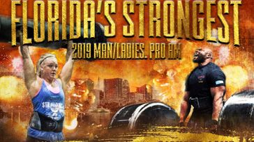 Florida strongman & Strongwoman competition
