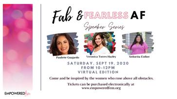 Fab & Fearless AF Speaker Series