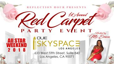 Reflection Hour's1st Annual Red Carpet Party Event