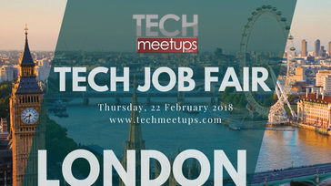 London Tech Job Fair Spring 2018