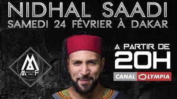 Comédien Nidhal SAADI à Dakar