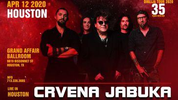 Crvena Jabuka, Houston Concert