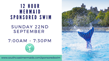 Sponsored 12 hour Mermaid Swim