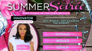 Summer Soirée: Pink Picnic in the Park Edition