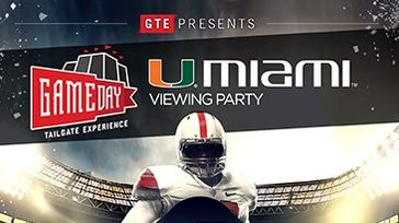 GTE Presents: Miami Hurricanes Viewing Party