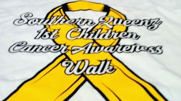 1st Children's Cancer Awareness Walk