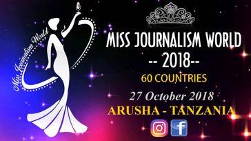 Miss Journalism World 2018