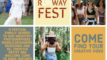 RUNWAY, fashion, Art and Music festival