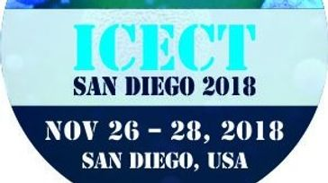 ICECT San Diego 2018