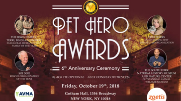 6th Anniversary Pet Hero Awards Ceremony