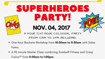 SUPERHEROES PARTY!