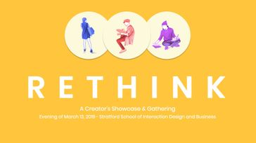RETHINK: A Creators Showcase & Gathering