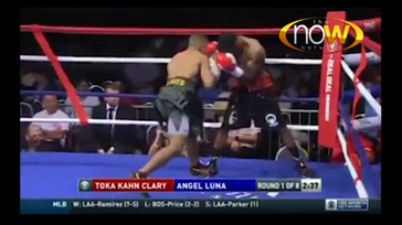 Angel Luna vs Anvar Yunsov Professional  Featherweight Boxing Fight