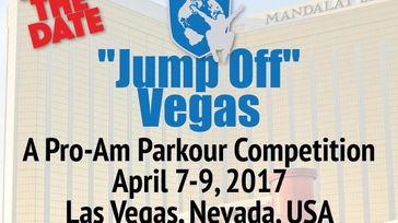 WFPF Parkour Pro-Am Championship, Las Vegas- Mandalay Bay