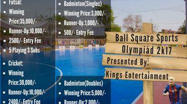 Ball Square Sports Olympiad 2k17