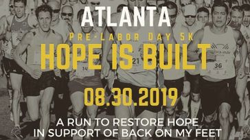 Hope is Built 5K Benefiting Back On My Feet