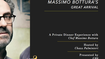 Massimo Bottura's Great arrival