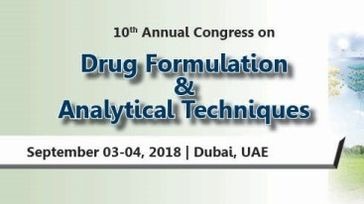 Drug Formulation and Analytical Techniques 2018