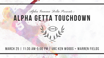 ΑΓΔ presents: Alpha Getta Touchdown 2017
