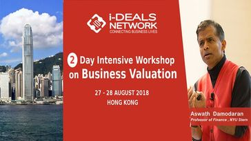 Business Valuation With Aswath Damodaran- HongKong