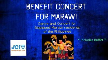 BENEFIT CONCERT FOR MARAWI AND BUFFET