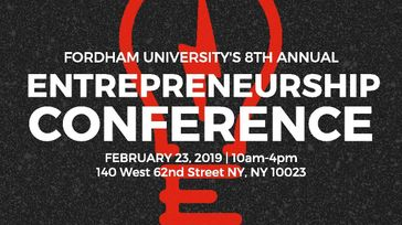 2019 Fordham University 8th Annual Entrepreneurship Conference