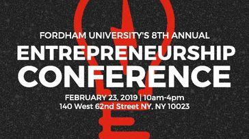 2019 Fordham University 8th Annual Entrepreneurship Conference