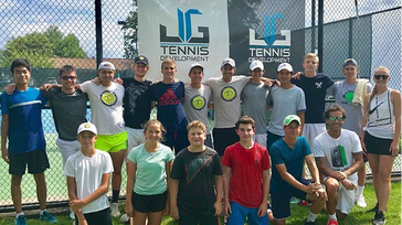 Tennis Psychology Seminar with Dr. Jorge Valverde in Westchester County, New York.