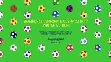 SarSportz Corporate Olympics 2017 (Winter Edition)