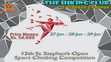 12th Open Sport Climbing Competition