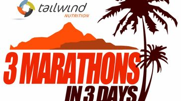 Tailwind Nutrition 3 Marathons in 3 Days