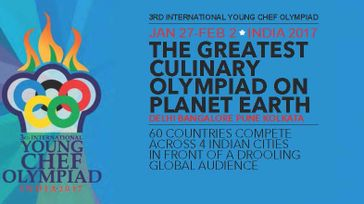 3rd International Young Chef Olympiad 2017