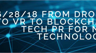 Tech PR for New Technologies