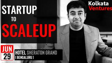 From Startup to Scale Up : By Mr Avelo Roy