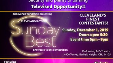 Cleveland's Own Sunday Best  Showcase Talent Competition
