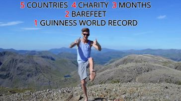 World Record Attempt - Longest Barefoot Journey