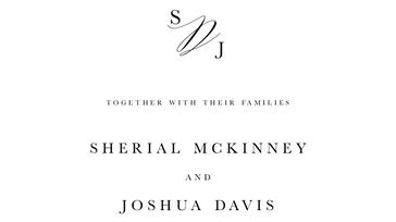 The McKinney-Davis Wedding