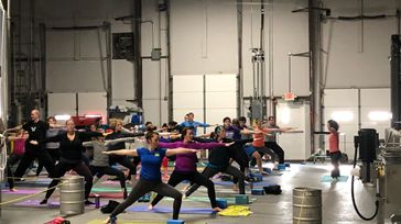 October Untapped Yoga with Kristen