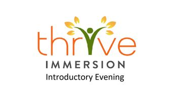 Thrive Immersion In Person Demo Event
