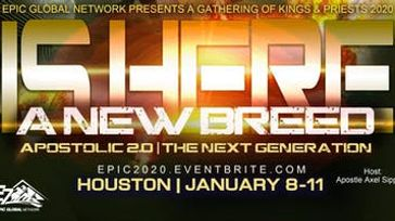 A NEW BREED IS HERE!!   Apostolic 2.0  The Next Generation
