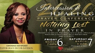 2020  Intercession and Healing Prayer Conference