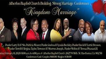 Building Strong Marriage Conference