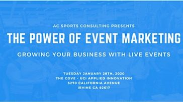 The Power of Event Marketing: Growing Your Business With Live Events