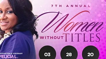 7th Annual Women Without Titles Conference