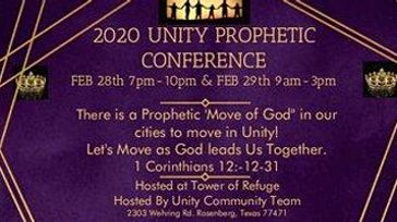 2020 Unity Prophetic Conference